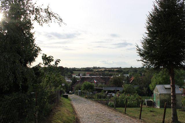 Blick ins Tal Gößnitz