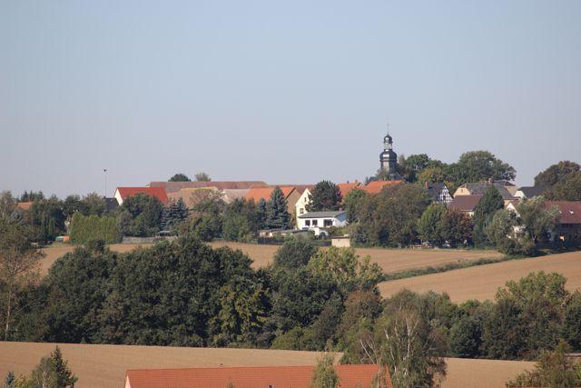 """Blick nach """"Bad Börnse"""""""