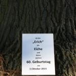 """60.Geburtstagsfeier """"Erich"""" die Eiche Oktober 2013"""